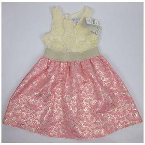 🍋Blush by US Angles Dress Girls Size 8